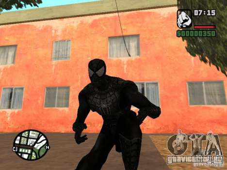 Человек паук враг в отражении для GTA San Andreas