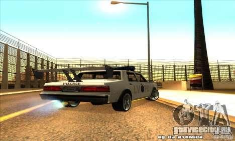 Police Hero v2.1 для GTA San Andreas вид справа
