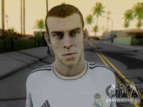 Гарет Бейл для GTA San Andreas четвёртый скриншот