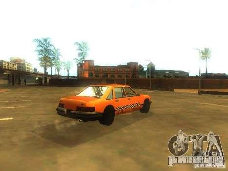 Crazy Taxi для GTA San Andreas вид справа