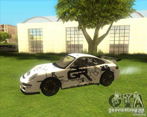 Porsche 997 GT3 RS для GTA San Andreas вид сбоку