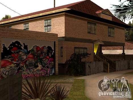 Новый дом СиДжея для GTA San Andreas четвёртый скриншот
