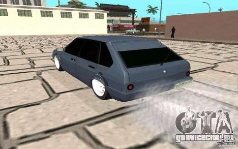 ВАЗ 2109 v.2 для GTA San Andreas вид сзади слева