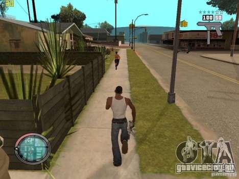 Дополнение к GTA IV HUD для GTA San Andreas пятый скриншот