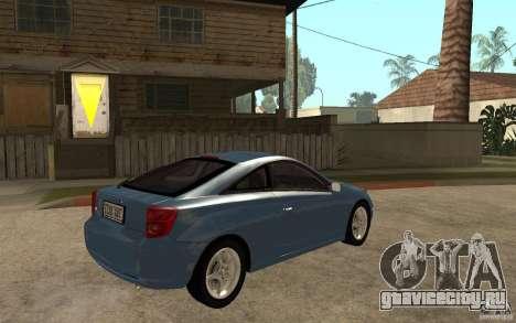 Toyota Celica SS2 для GTA San Andreas вид справа