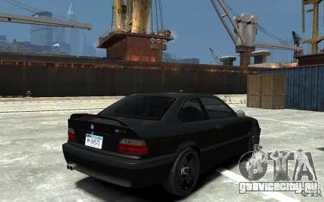 BMW M3 E36 v1.0 для GTA 4 вид изнутри