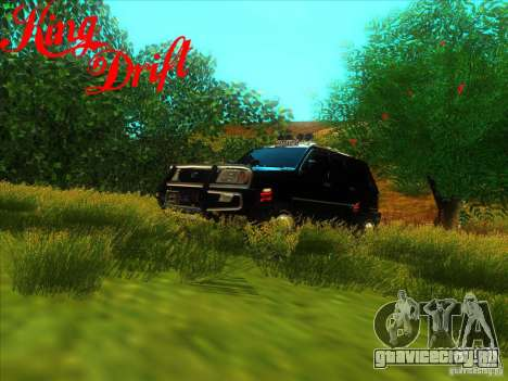 Toyota Land Cruiser v100 для GTA San Andreas вид сбоку