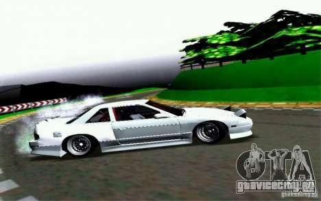Nissan S13 Onevia для GTA San Andreas вид изнутри