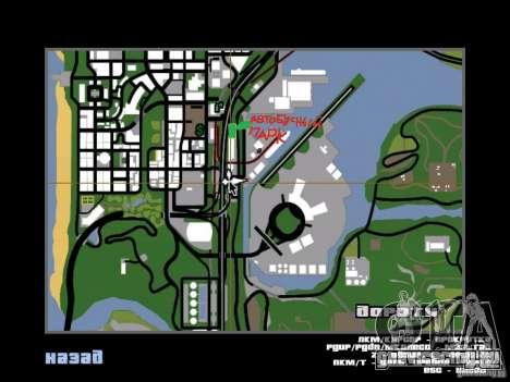 Автобусный парк v1.1 для GTA San Andreas седьмой скриншот
