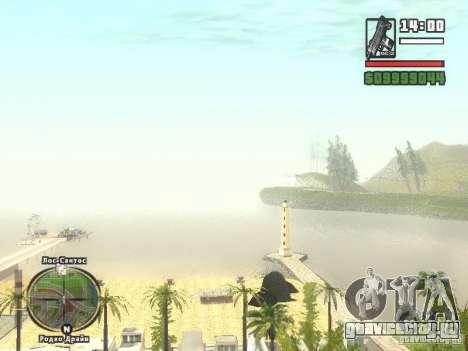 Новый Бар на пляже Верона для GTA San Andreas четвёртый скриншот