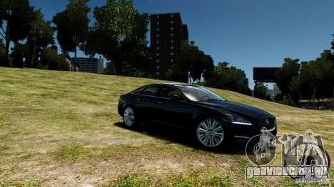 Jaguar XJ 2012 для GTA 4
