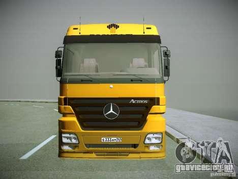 Mercedes-Benz Actros РосНефть для GTA San Andreas вид слева