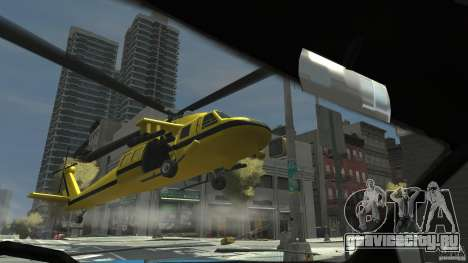 Yellow Annihilator для GTA 4 вид справа
