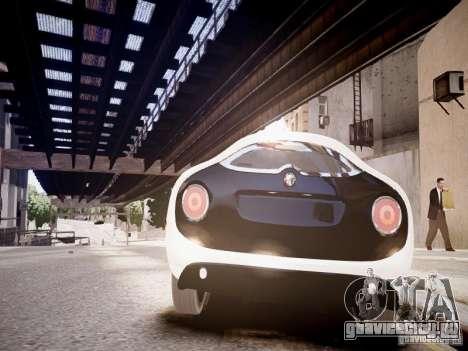 Alfa Romeo TZ3 Stradale Zagato для GTA 4 вид справа