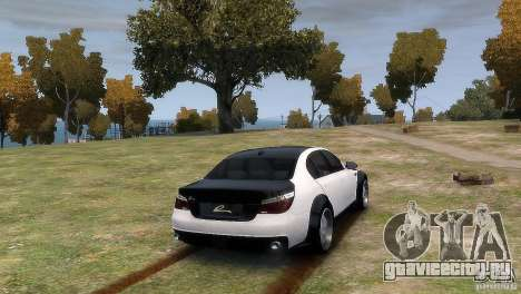 BMW M5 Lumma для GTA 4 вид слева
