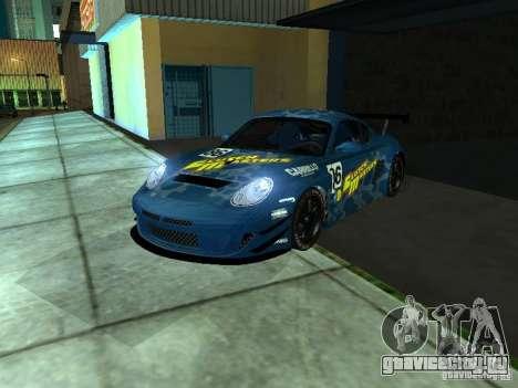 Porsche Cayman S NFS Shift для GTA San Andreas вид сзади