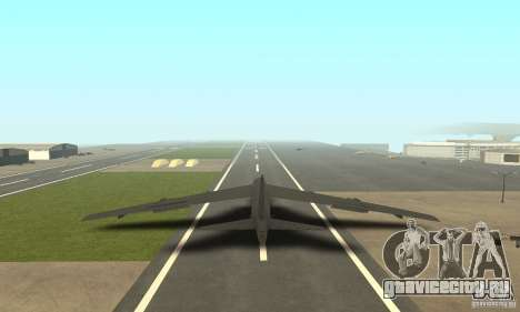 Boeing B-52H Stratofortress для GTA San Andreas вид слева