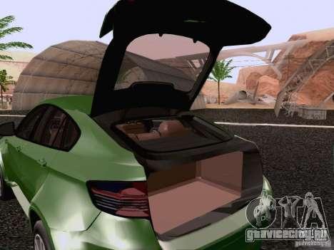BMW X6 LT для GTA San Andreas вид сбоку