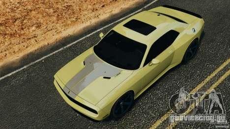 Dodge Rampage Challenger 2011 v1.0 для GTA 4 вид изнутри