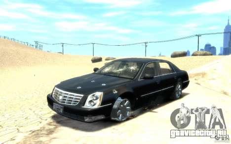 Cadillac DTS v 2.0 для GTA 4 вид снизу