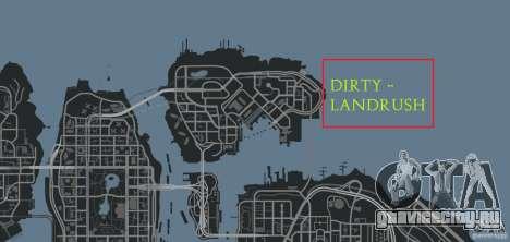 DiRTY - LandRush для GTA 4 десятый скриншот