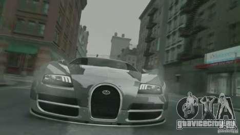 Bugatti Veyron 16.4 Super Sport для GTA 4 вид сбоку