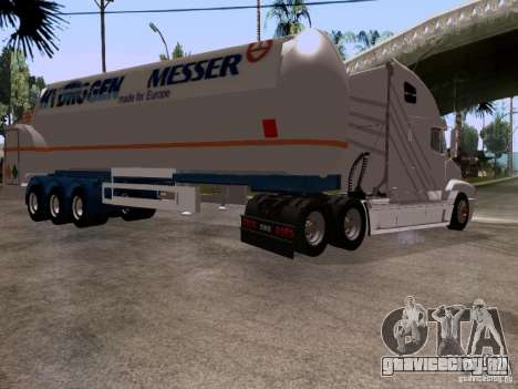 Freightliner Century для GTA San Andreas вид сзади