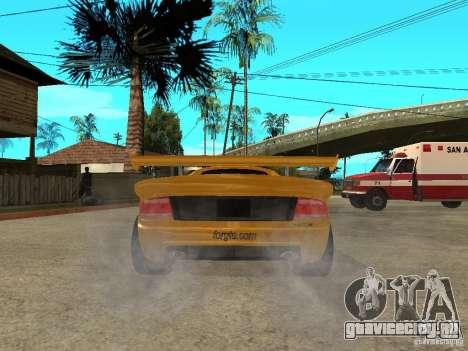 Noble M12 GTO Beta для GTA San Andreas вид сзади слева