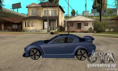 Mazda RX-8 v2 для GTA San Andreas вид слева
