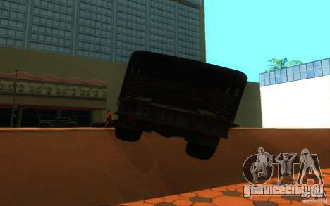 ГАЗ 66 для GTA San Andreas вид справа