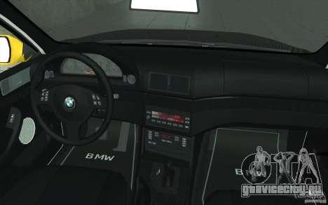 BMW M5 E39 - FnF4 для GTA San Andreas вид сверху