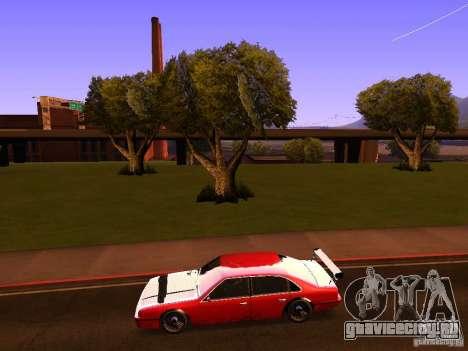 Emperor GT для GTA San Andreas вид слева