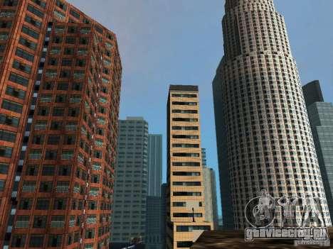 Новые текстуры небоскрёбов Downtown для GTA San Andreas четвёртый скриншот