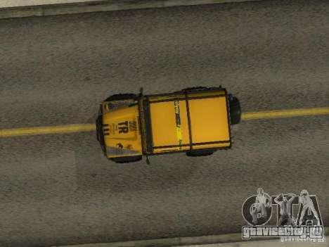 Land Rover Defender Off-Road для GTA San Andreas