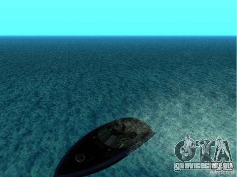 Squalo из Grand Theft Auto IV для GTA San Andreas вид справа