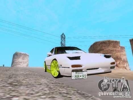Nissan Silvia S13 Drift Style для GTA San Andreas вид справа
