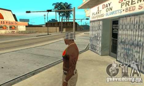 Прикольная татуировка у CJ-я на теле для GTA San Andreas второй скриншот