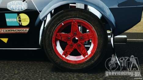 Lancia Stratos v1.1 для GTA 4 вид сзади