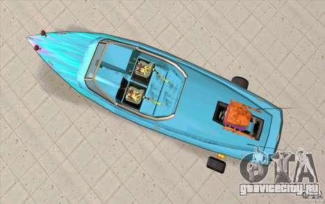 Hot-Boat-Rot для GTA San Andreas вид справа