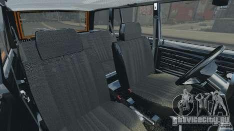 ВАЗ-21043 v1.0 для GTA 4 вид изнутри