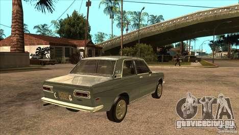 Datsun 510 для GTA San Andreas вид справа
