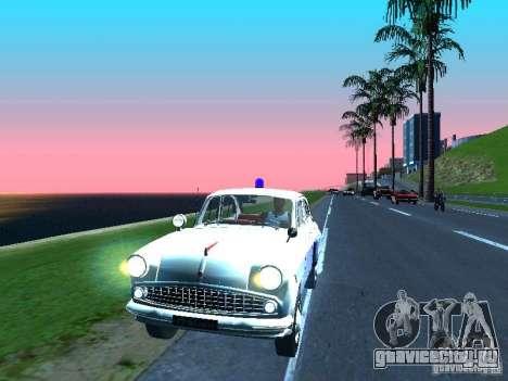Москвич 403 С Милиция для GTA San Andreas вид слева