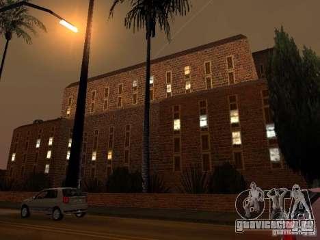 Новые текстуры госпиталя в Лос Сантосе для GTA San Andreas четвёртый скриншот