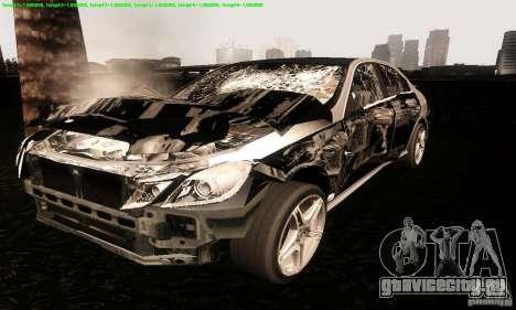 Mercedes-Benz E63 AMG 2010 для GTA San Andreas вид сбоку