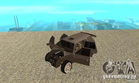 Jemala для GTA San Andreas вид сзади