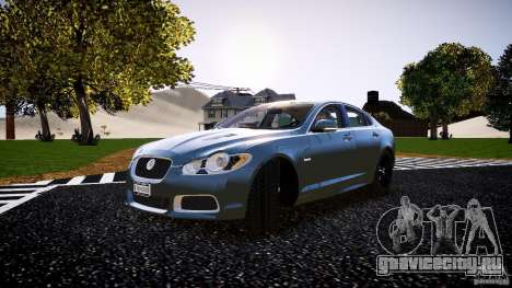 Jaguar XFR 2010 для GTA 4