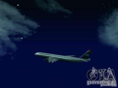 Airbus A330-300 US Airways для GTA San Andreas вид сбоку