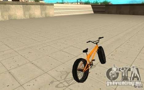 BMX Long Big Wheel Version для GTA San Andreas вид сзади слева