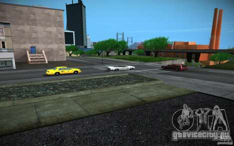 HD Дороги (GTA 4 in SA) для GTA San Andreas четвёртый скриншот
