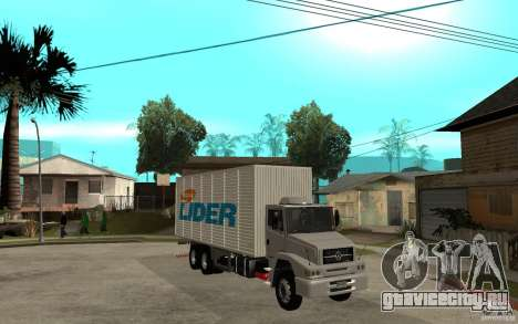 Camiуn Hiper Lider для GTA San Andreas вид сзади